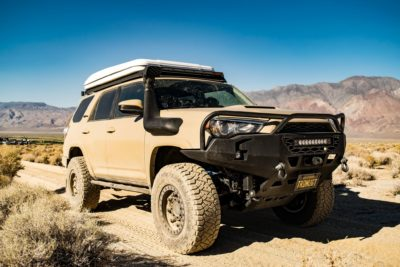 2018 lifted Toyota 4Runner offroad