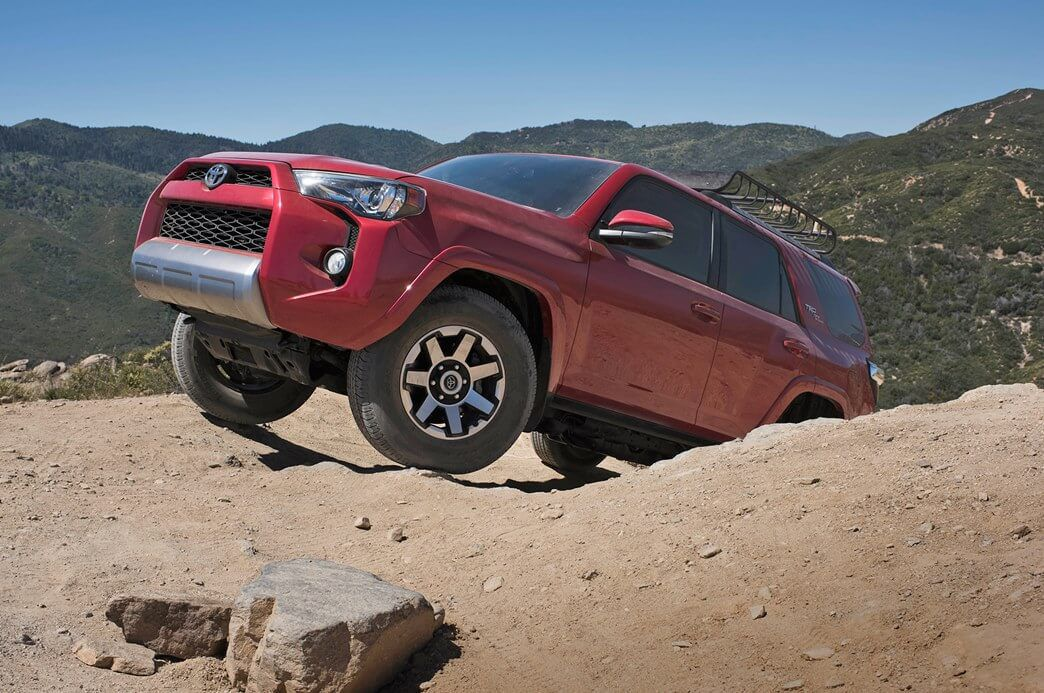 2018 red Toyota 4Runner 005