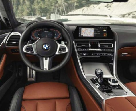 2019 BMW 850i XDRIVE interior