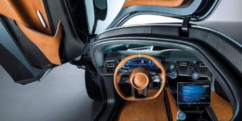 2019 Rimac Concept two interior