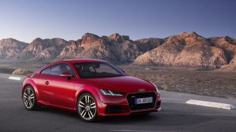 2019 red Audi TT Coupe 01