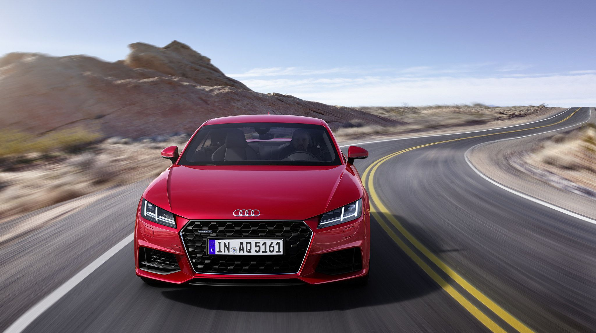 2019 red Audi TT Coupe 02