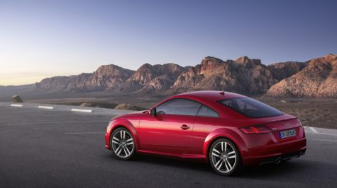 2019 red Audi TT Coupe 03