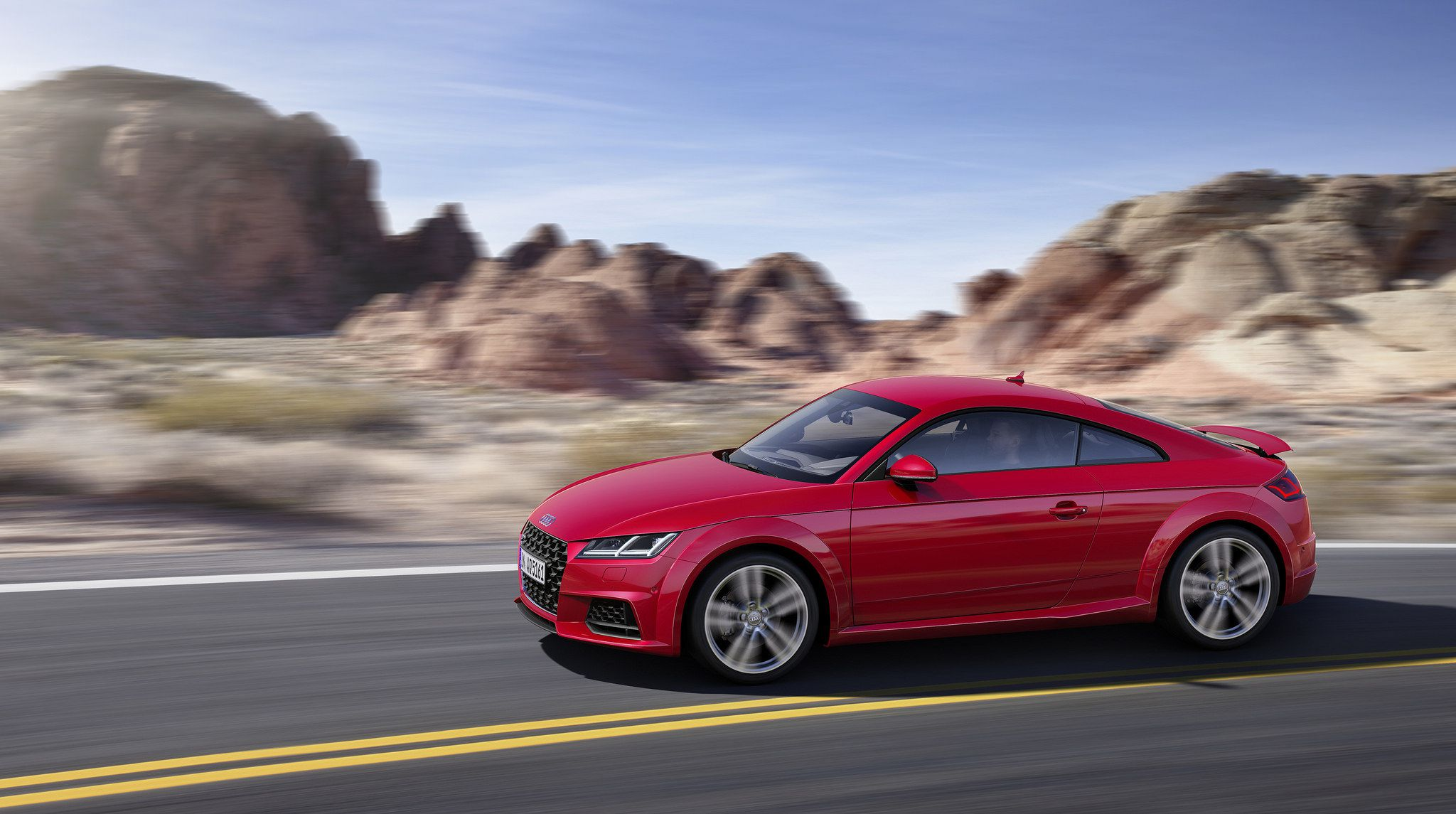 2019 red Audi TT Coupe 04