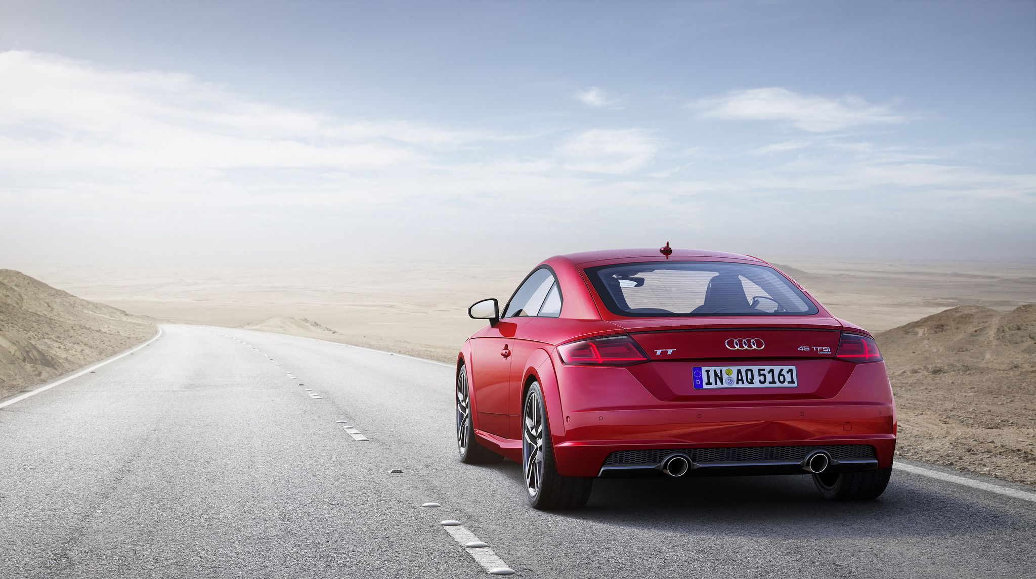 2019 red Audi TT Coupe 05