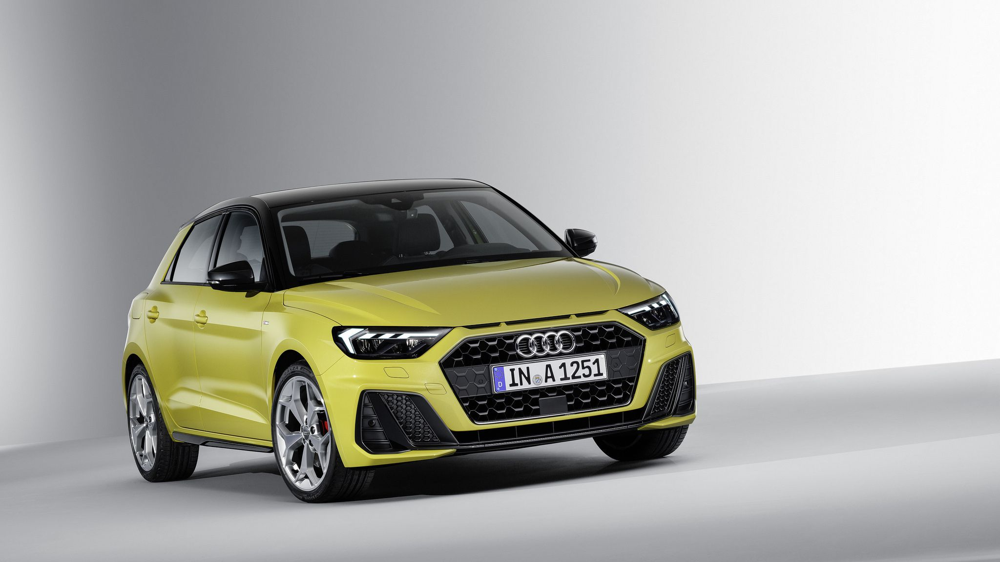 15 images about 2019 Audi A1 Sportback in Grey and Yellow