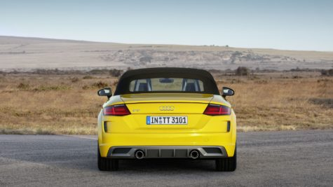 2019 yellow Audi TT Roadster 05