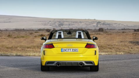2019 yellow Audi TT Roadster 06