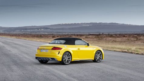 2019 yellow Audi TT Roadster 07