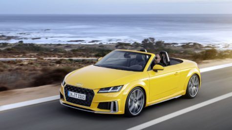 2019 yellow Audi TT Roadster 09