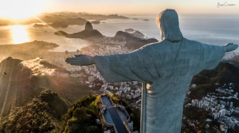 Christ the Redeemer by Dawn