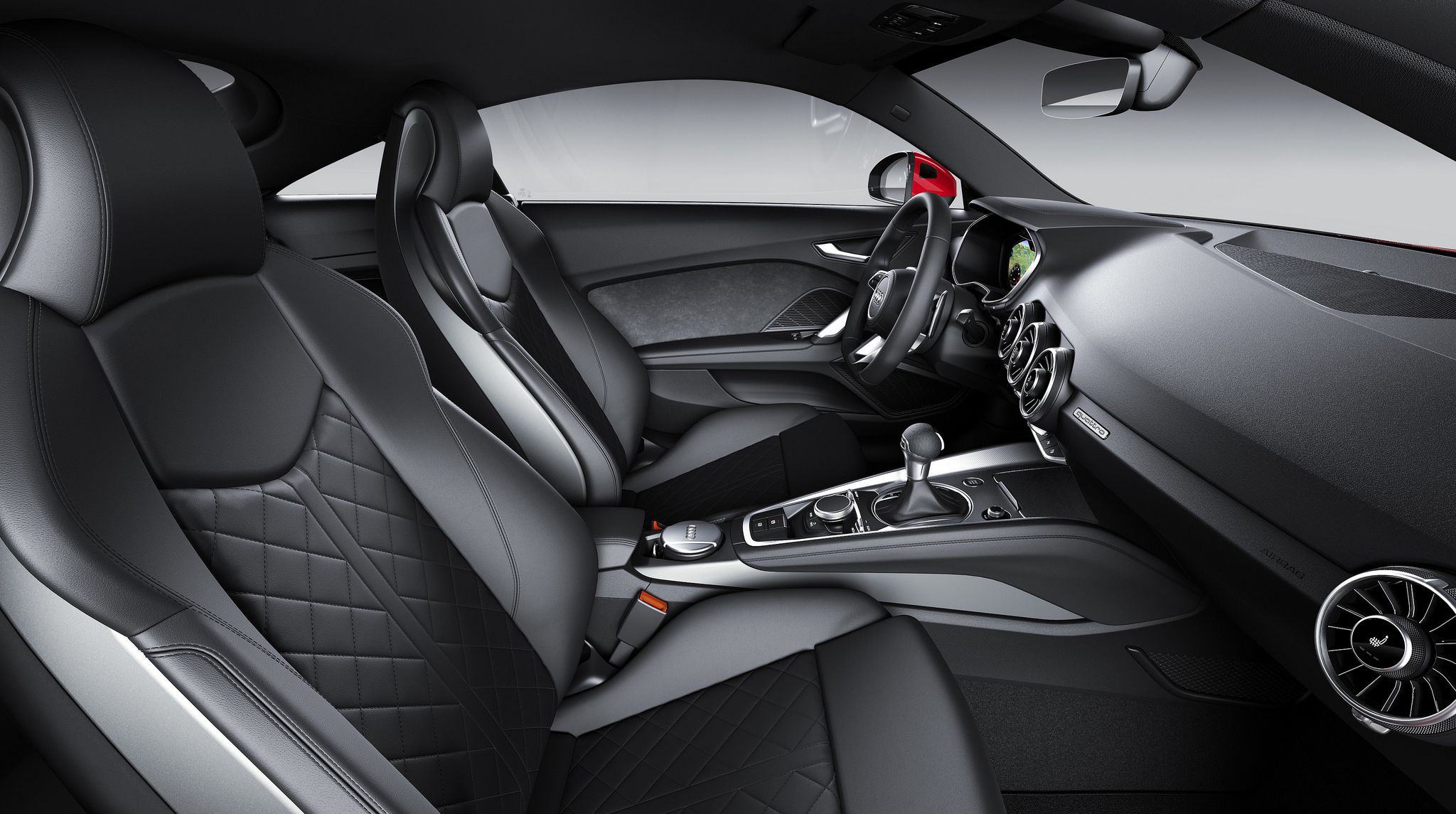 Interior of 2019 Audi TT Coupe 01