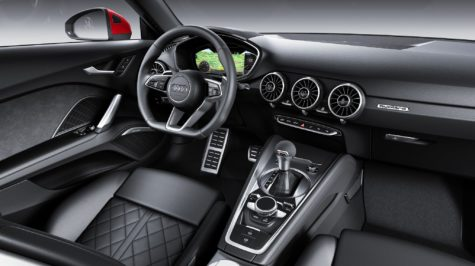 Interior of 2019 Audi TT Coupe 02
