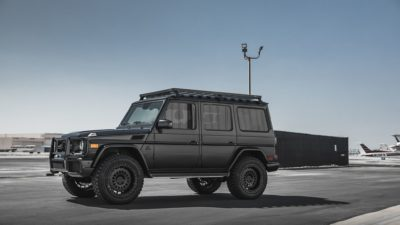 Black SUV G-Class on Rotiform CCV-OR wheels - Mercedes-Benz G63 exterior