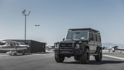 Black SUV G-Class on Rotiform CCV-OR wheels - Mercedes-Benz G63 HD image