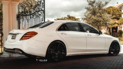 03 white Mercedes Benz S Class S 450 Sedan 4matic 2018