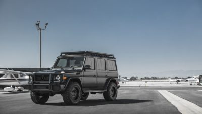 Black SUV G-Class on Rotiform CCV-OR wheels - Mercedes-Benz G63 in high quality and resolution