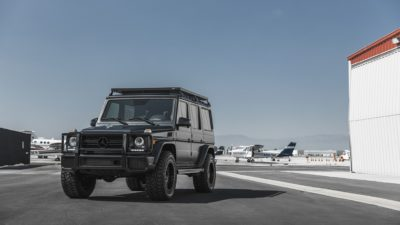 Black SUV G-Class on Rotiform CCV-OR wheels - Mercedes-Benz G63