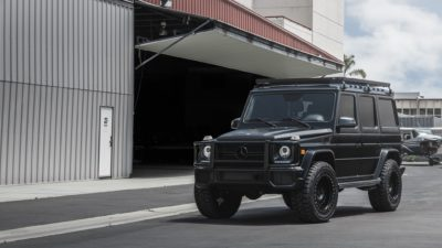 Black SUV G-Class on Rotiform CCV-OR wheels - Mercedes-Benz G63 legendary