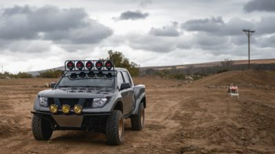 off road suv - dark-grey Nissan Frontier SE 4x2