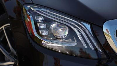 2018 Mercedes Benz S Class S 450 Sedan headlights