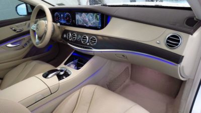 2018 New Mercedes Benz S Class S 450 Sedan 1rd row interior