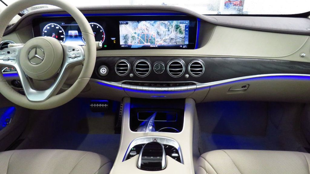 2018 New Mercedes Benz S Class S 450 Sedan interior