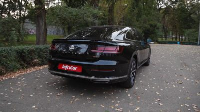 VW 2.0 TDI 5dr sedan Rear bumper - 2018 black Volkswagen Arteon
