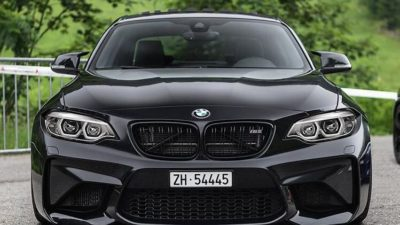 2018 black BMW M2 LCI 2 series