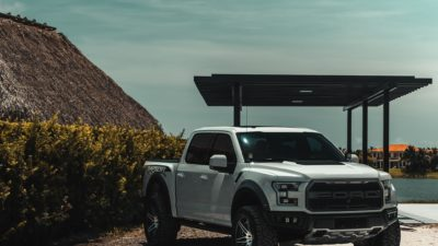 2018 grey Ford Raptor F 150 Biturbo 600bhP