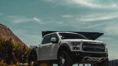 2018 grey Ford Raptor F 150 Biturbo for desktop