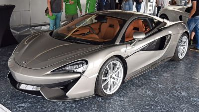 2018 grey McLaren 570S Coupe