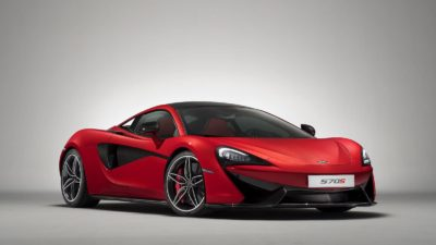 2018 red McLaren 570S coupe