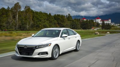 2018 white Honda Accord Sport 4dr sedan Turbo CVT 02
