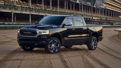 2019 black Dodge Ram 1500 Limited