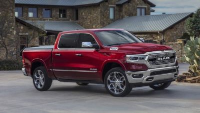2019 red Dodge Ram 1500 Limited