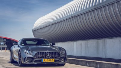 2018 grey Mercedes-Benz AMG GT R Speed Monster by Bas Fransen