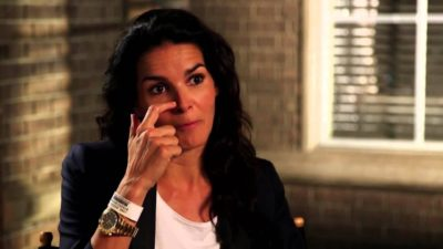 Angie Harmon in Hells Kitchen