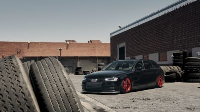Black tuned Audi B8.5 Avant images