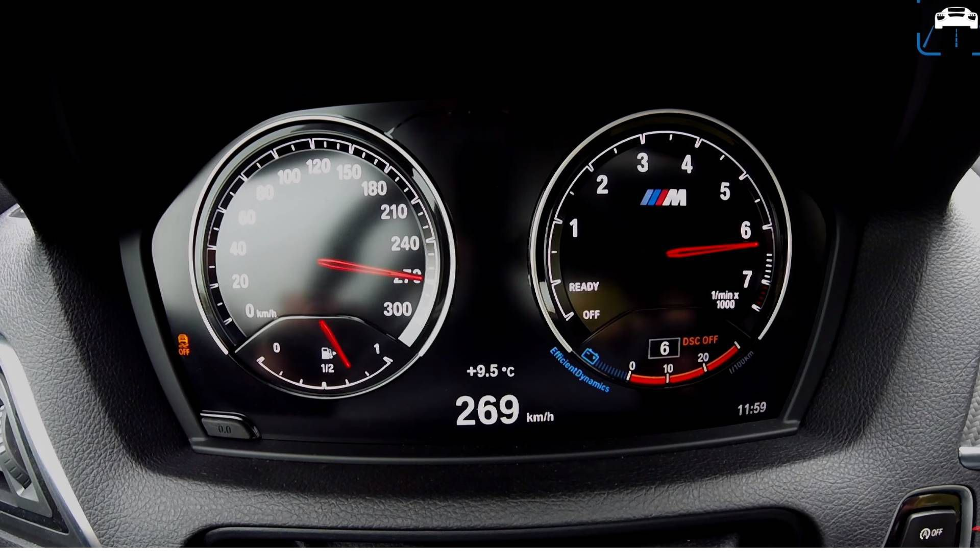 Dashboard 2018 BMW M2 LCI 2 series