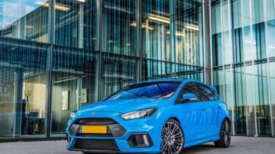 2018 Ford Focus RS, Blue, Hatchback