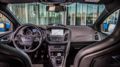 Ford Focus RS interior 2