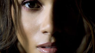 Halle Berry beautiful brown eyes