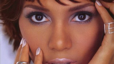 Halle Berry eyes makeup and lips