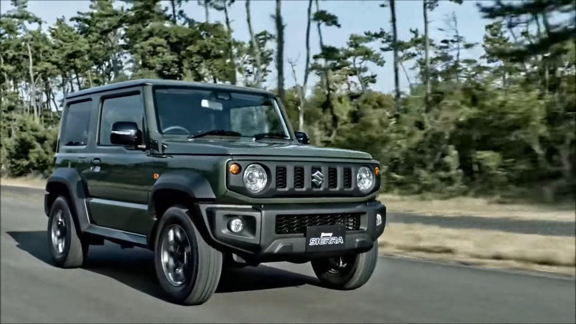 dark green Jimny Sierra in HD