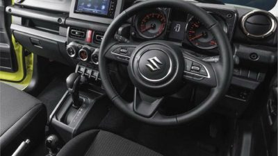 Jimny interior steering wheel