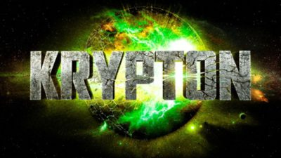 Krypton TV: stone logotype