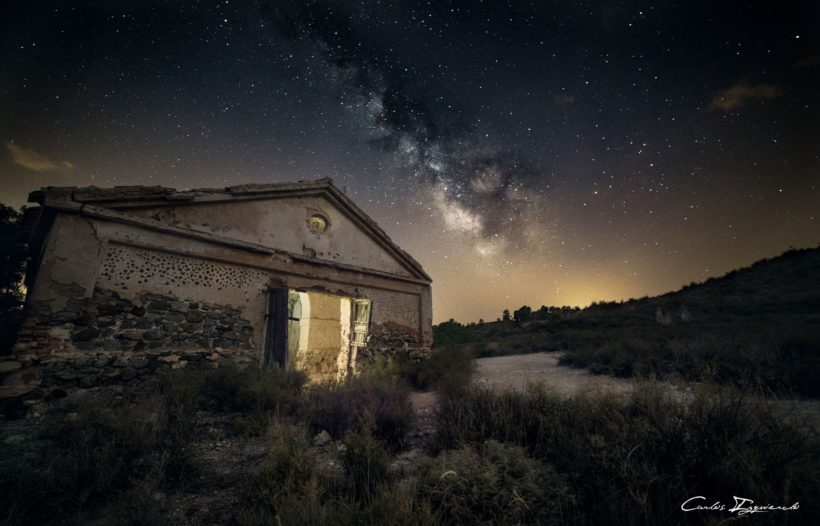 Milky Way, a house