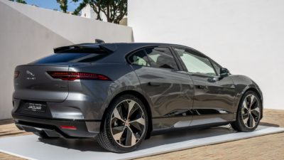 New photo of Jaguar i Pace 2018