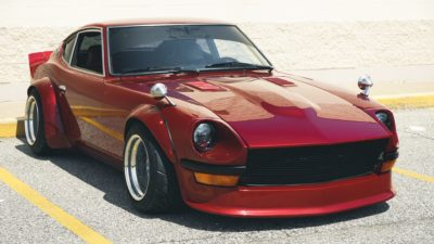 Old In The New - red Nissan Datsun 280Z HD image